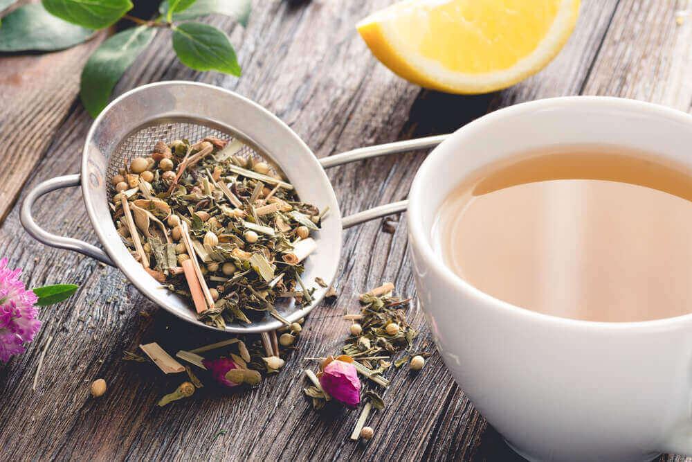 herbata na gazy jelitowe