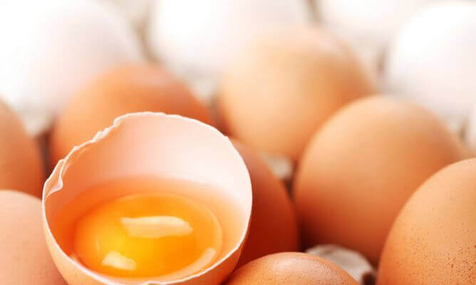 Jaja na Zwyrodnienie plamki żółtej