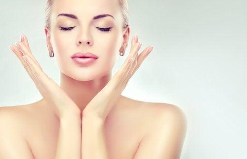 Kobieta - piękna skóra