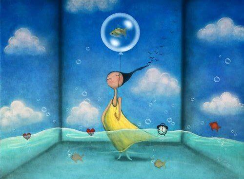 Kobieta w wodzie a Wpłynie na Ciebie