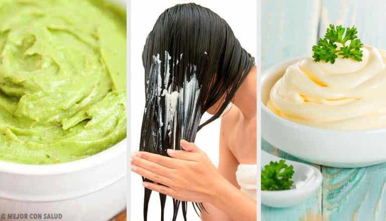 Gładkie i lśniące włosy - 5 maseczek