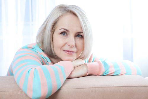 kobieta w okresie menopauzy