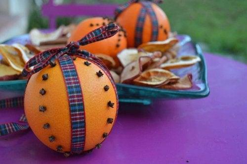 Odświeżacz - pomarańcza i goździki