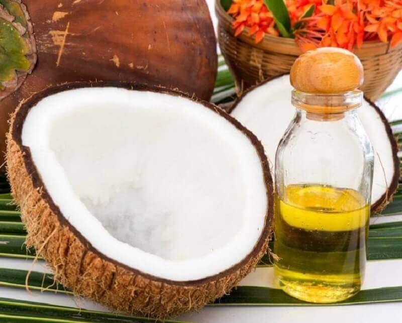 olej kokosowy na porost włosów