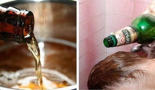 piwo na wypadanie włosów