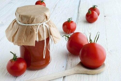 pomidory Lśniące włosy