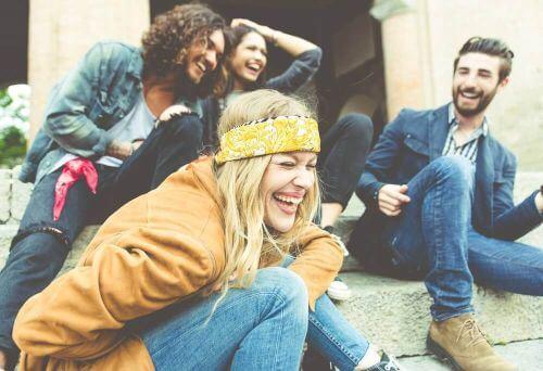 stres i niepokój dobre towarzystwo przyjaciół