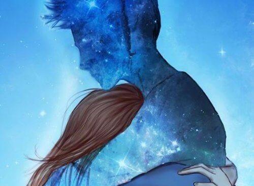 Przytulenie drugiej osoby