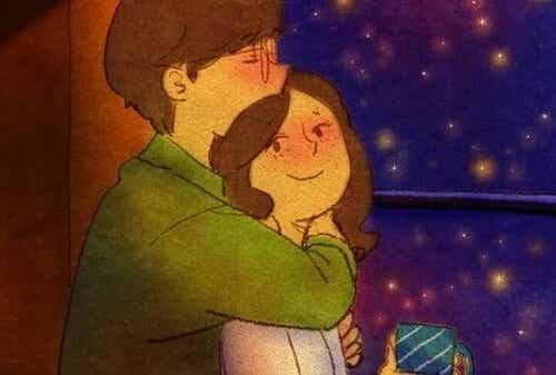 Przytulenie - we właściwym momencie jest wręcz bezcenne