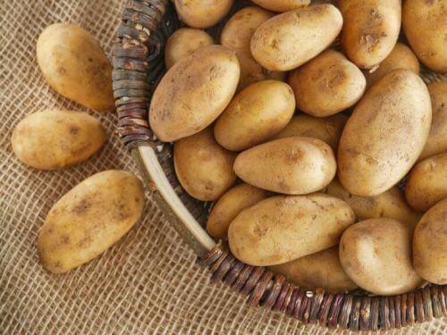 potas w ziemniakach