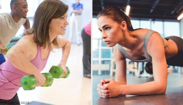 5 ćwiczeń na zmniejszenie piersi