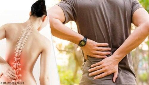 Ból pleców – 6 możliwych przyczyn