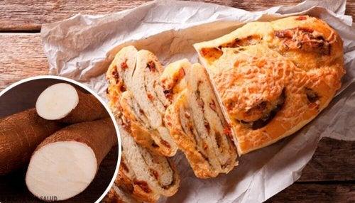 Chleb z manioku bez glutenu, laktozy i cukru