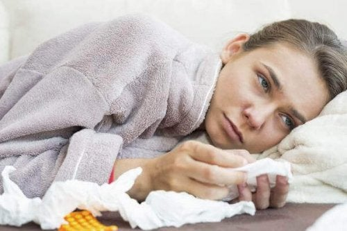 Kobieta chora na POChP