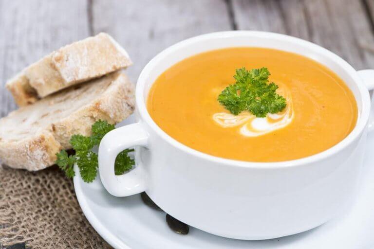 wegańska zupa z dyni