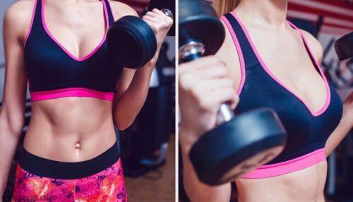 Jędrny biust – wypróbuj tych kilka ćwiczeń