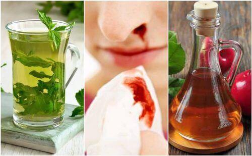 5 naturalnych środków na krwotoki z nosa