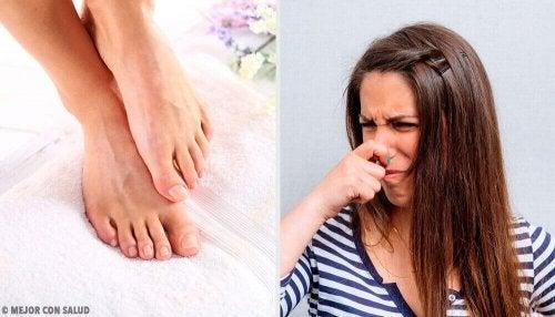 Nieprzyjemny zapach stóp - zwalcz tymi 11 sposobami