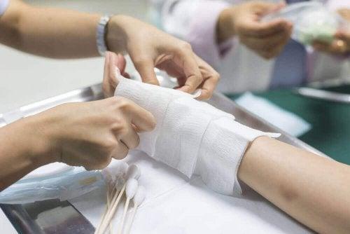oparzenia skóry
