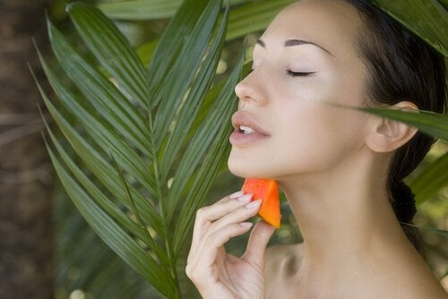 Papaja naturalnym kosmetykiem