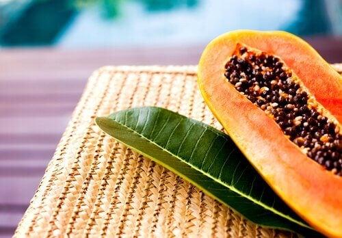 Połówka papai