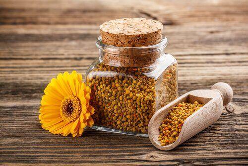Pyłek pszczeli na pobudzenie apetytu u dzieka
