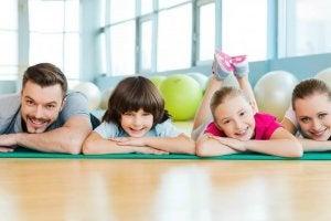 Rodzinne uprawianie sportu
