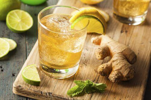 Rzodkiewka, imbir i limonka