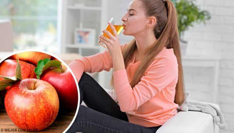 Sok jabłkowy - 8 wspaniałych korzyści dla zdrowia