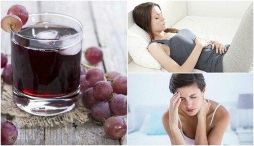 Sok z winogron - 6 korzyści regularnego picia