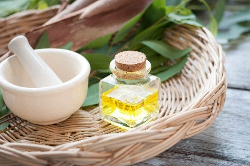 sole Epsom i olejek eukaliptusowy na odciski