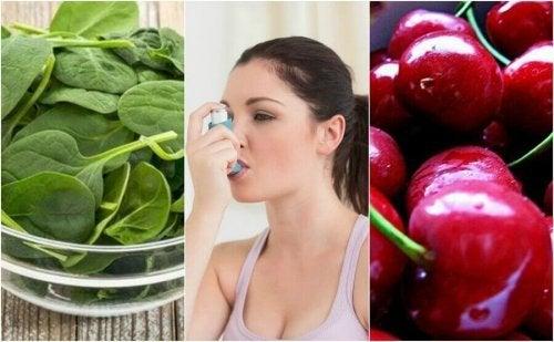 Jak złagodzić objawy astmy -7 naturalnych produktów