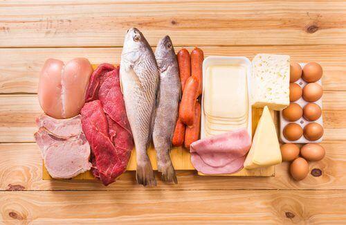 białka - dieta na porost włosów
