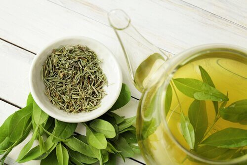 Zielona herbata - maska z zielonej herbaty na problemy skórne