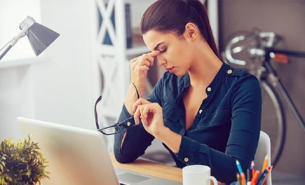 stres w pracy kobieta stres małopłytkowość