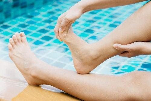ćwiczenie na bolesne skurcze mięśni