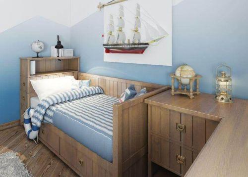 Łóżka z miejscem do przechowywania dla dzieci