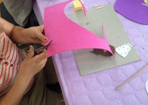 Zabawy twórcze z papierem piankowym