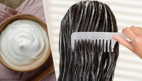 Majonez – maseczka na piękne włosy