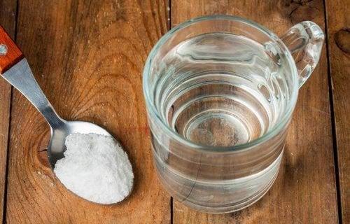 Sól na wrzody w jamie ustnej