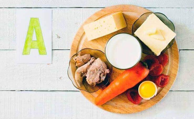produkty zawierające witaminę A