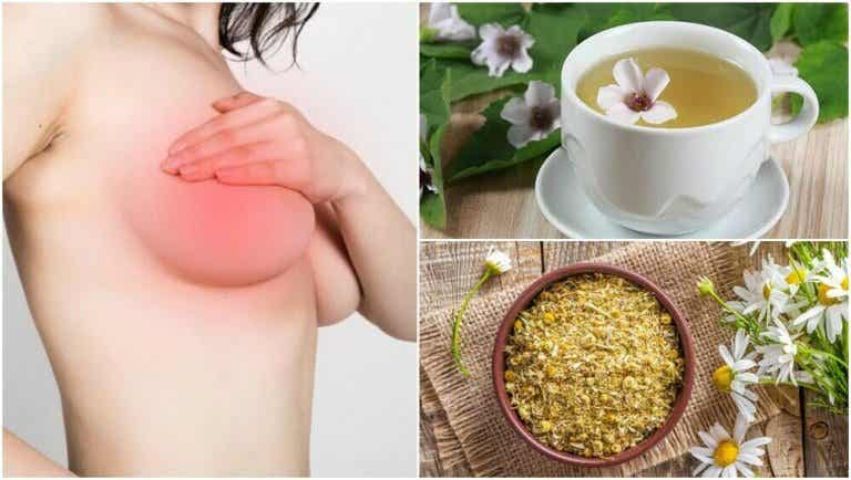 Ból piersi - 5 naturalnych środków łagodzących