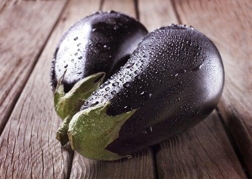 bakłażan owoce i warzywa zapobiegające nowotworom