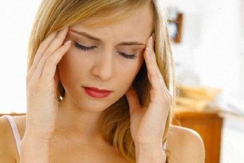 Ogólny dyskomfort bóle głowy