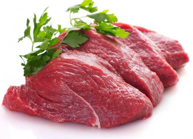 Chude mięso.