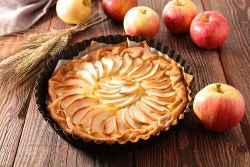 ciasto jabłkowo-brzoskwiniowe