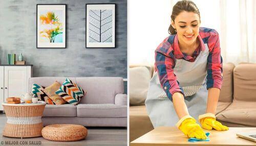 Utrzymanie czystości w domu – poznaj 5 nawyków