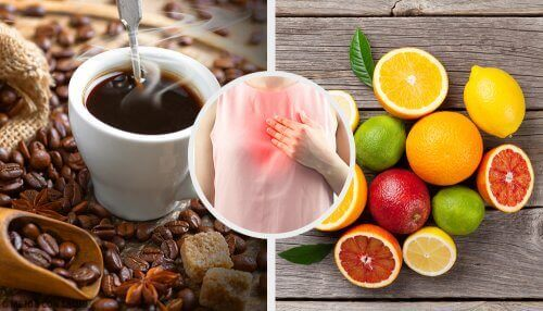 Dieta na refluks. kawa owoce zgaga