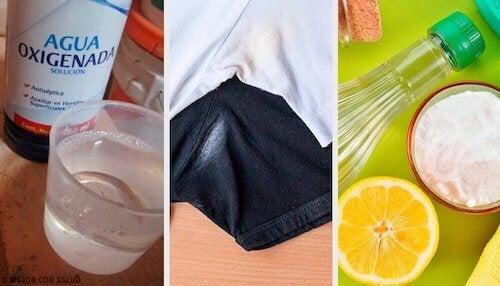 Sposoby na usunięcie plam z dezodorantu