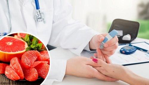 Owoc grejpfruta- zapobiegaj cukrzycy i nowotworom